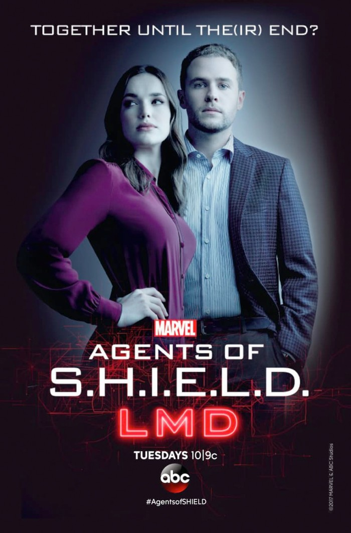 Agents of SHIELD LMD - FitzSimmons Poster