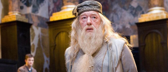 albus dumbledore michael gambon