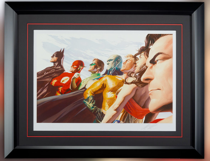 Justice League: Liberty and Justice - Alex Ross Print