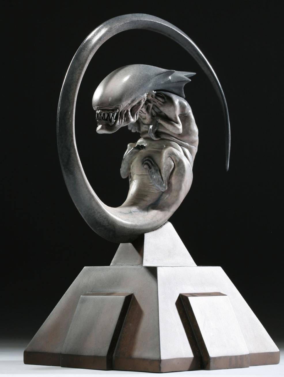 Cool Stuff: Alien 3 Fetal Queen Maquette – /Film H.r. Giger Queen Alien