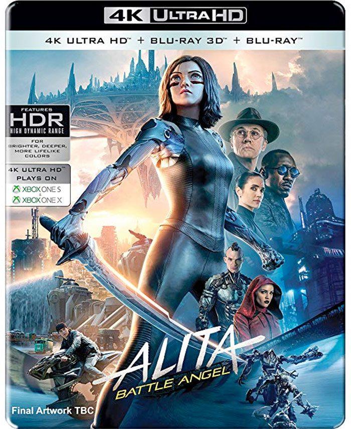 Alita Battle Angel 4K Ultra HD Cover
