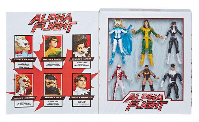 Alpha Flight Marvel Legends Figures