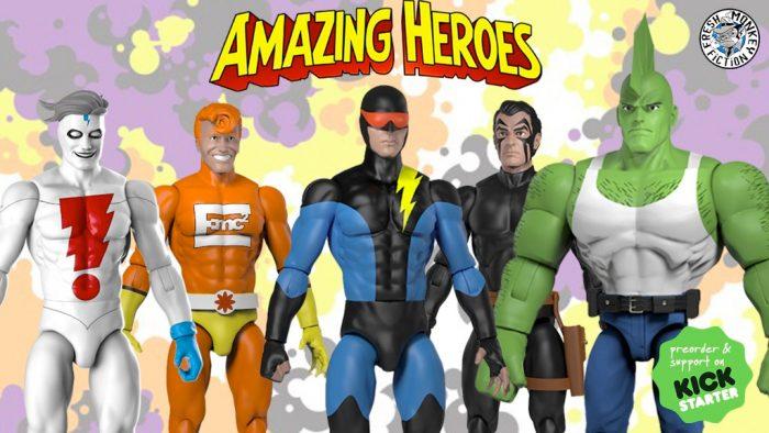 Amazing Heroes Action Figures