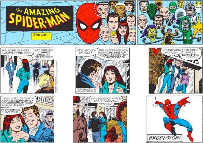 Final Amazing Spider-Man Comic Strip