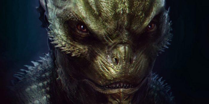 Amazing Spider-Man - Lizard Concept Art