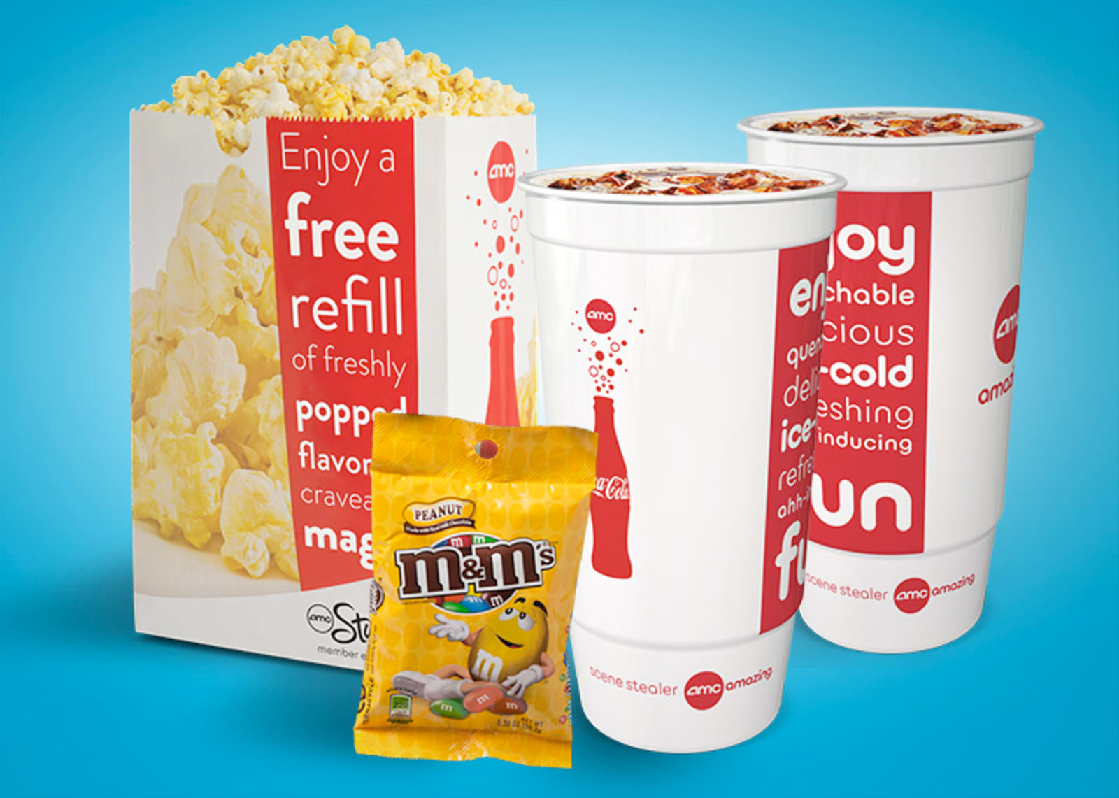 Join AMC Stubs now for movie rewards and discounts like FREE size upgrades on popcorn. View our movie memberships and loyalty programs, and get started for FREE.