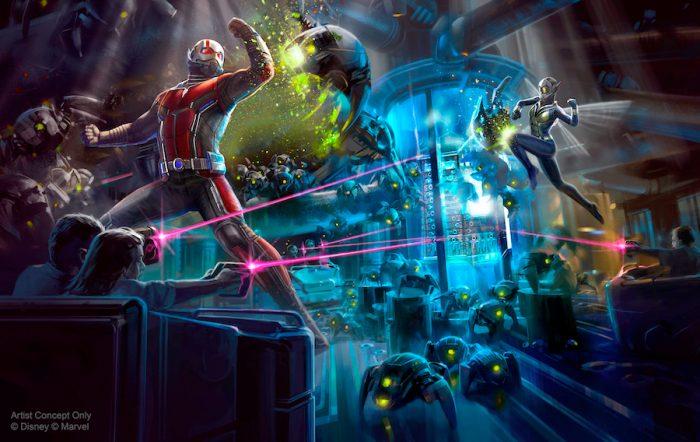Ant-Man Ride Hong Kong Disneyland