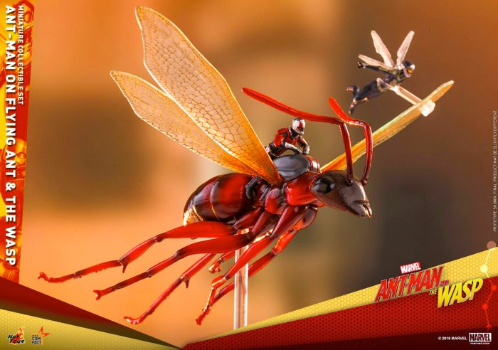 Ant-Man and the Wasp Miniature Hot Toys Set