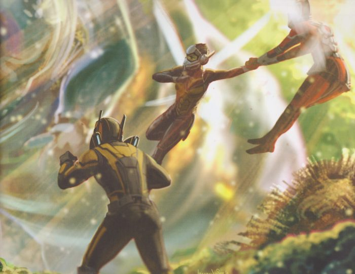 Ant-Man and the Wasp Concept Art
