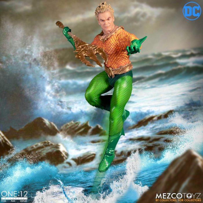 Aquaman Mezco Toyz One:12 Collective Figure