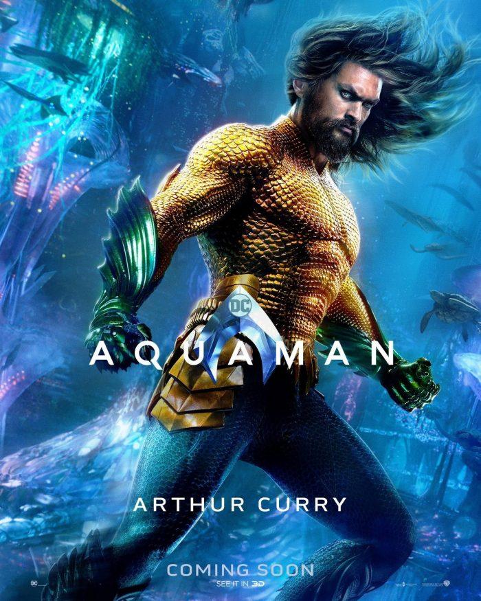 Aquaman Poster Aquaman