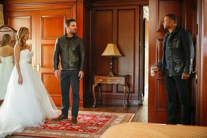 Arrow 100th Episode Wedding