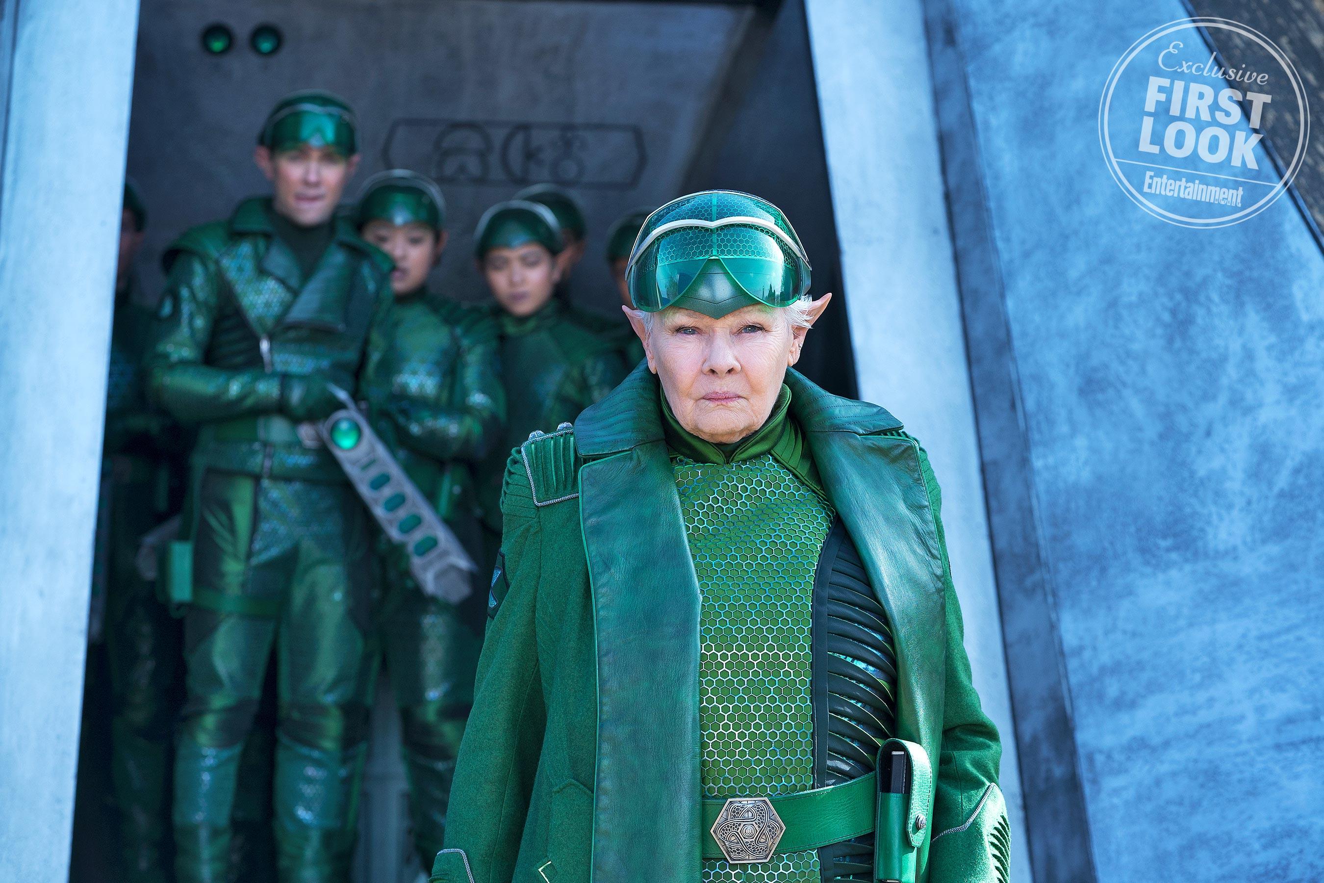 Artemis Fowl Image: First Look at Judi Dench as Commander