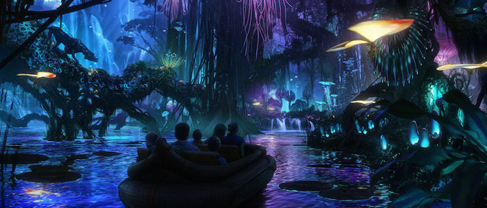 Disney Reveals New Look at Avatar Na'vi River Journey