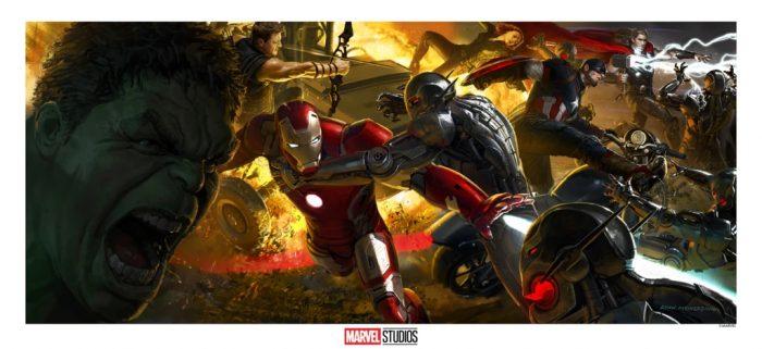Avengers: Age of Ultron Concept Art Print