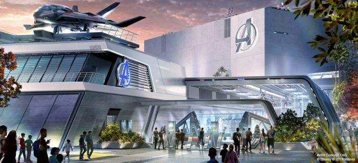 Disneyland Avengers Campus Headquarters