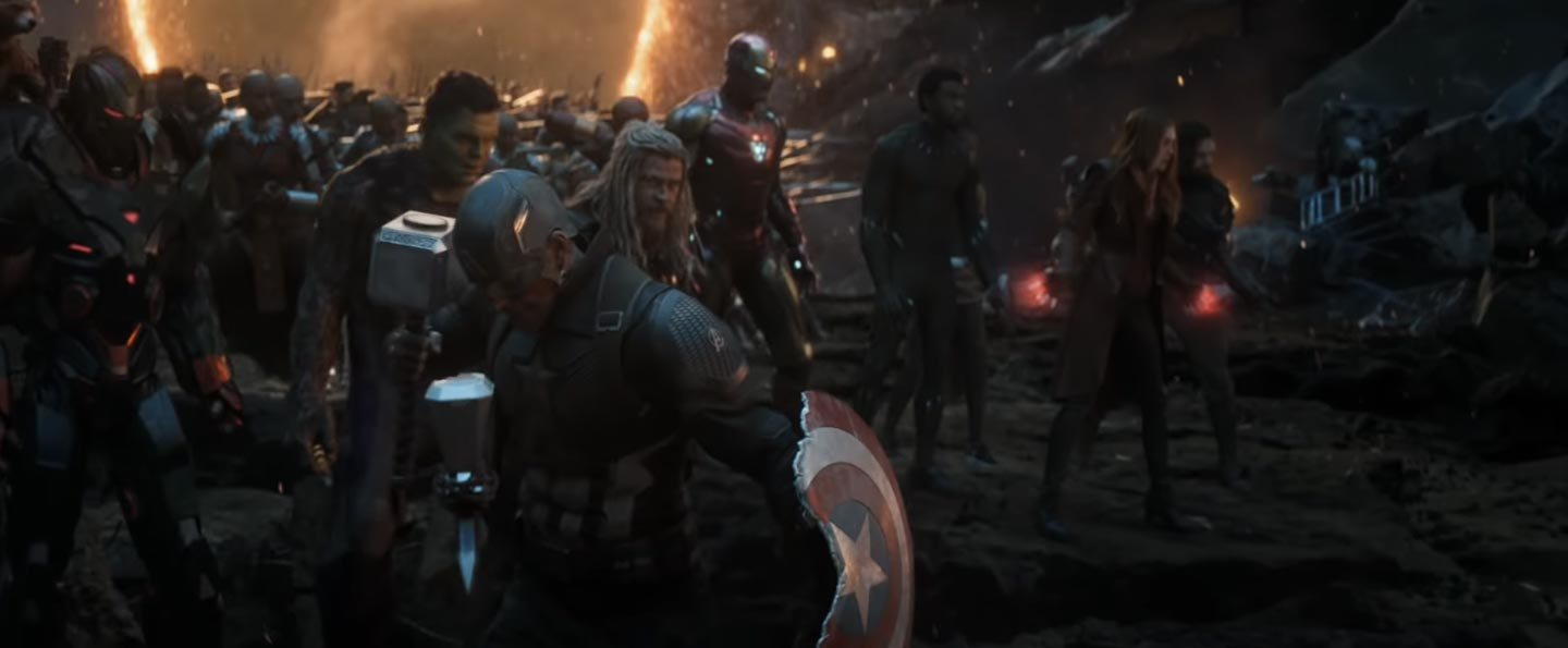 Avengers Endgame Inside That Epic Avengers Assemble Shot Film
