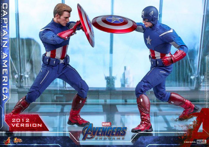 Avengers: Endgame - Captain America 2012 Version - Hot Toys Figure