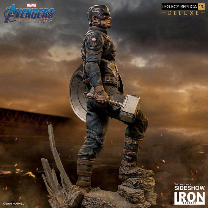 Avengers Endgame - Captain America Statue