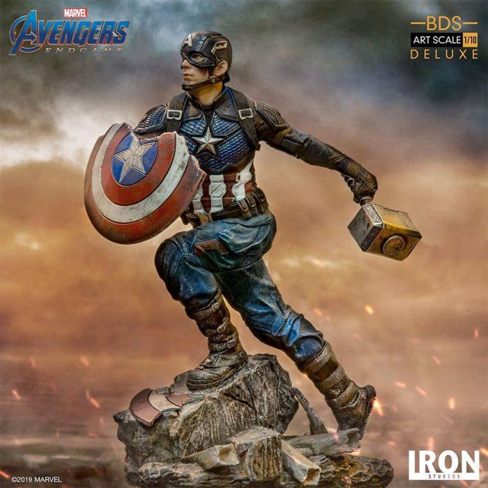 Captain America - Avengers Endgame Statue