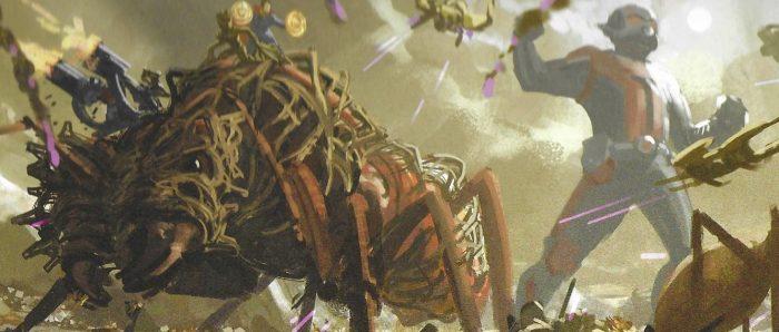 Avengers: Endgame Concept Art - Giant Ants