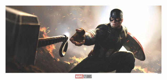 Avengers: Endgame Concept Art Print