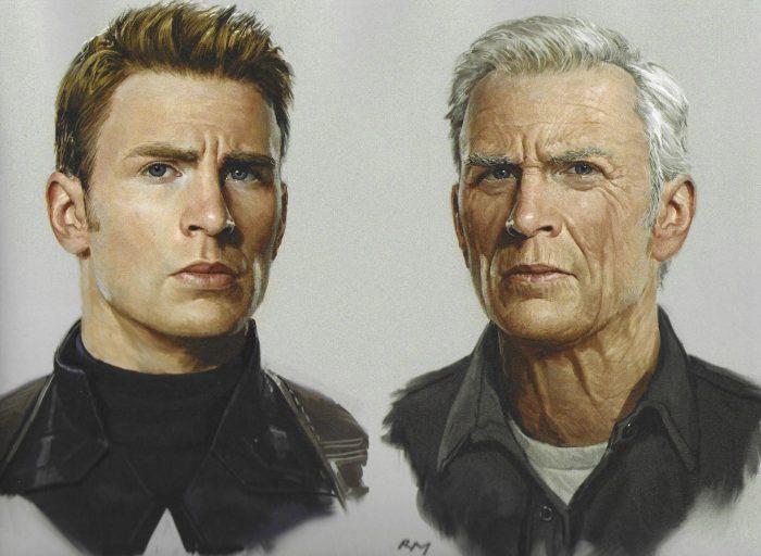 Avengers: Endgame Concept Art - Old Steve Rogers