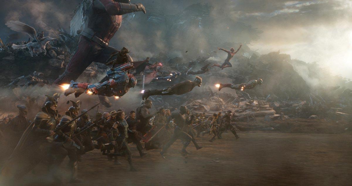 Image result for endgame battle