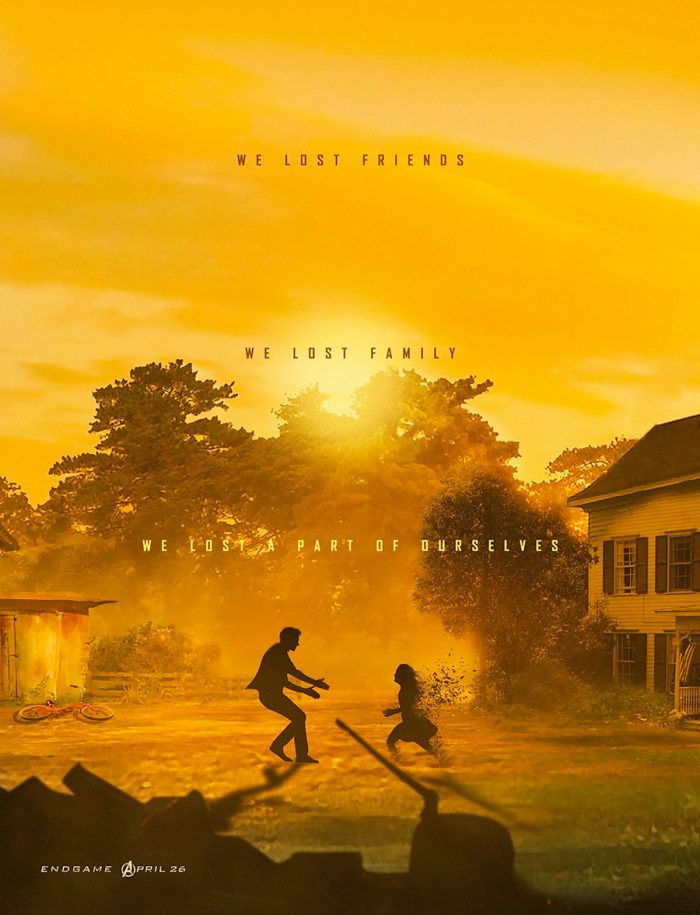 Avengers Endgame - Hawkeye Poster