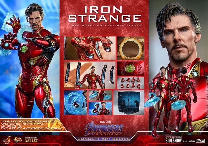 Avengers: Endgame Iron Strange Hot Toys Figure