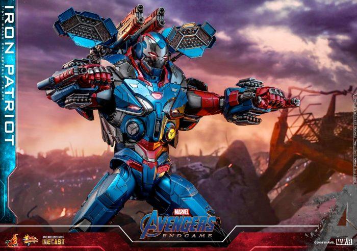 Avengers Endgame - Iron Patriot Hot Toys Figure