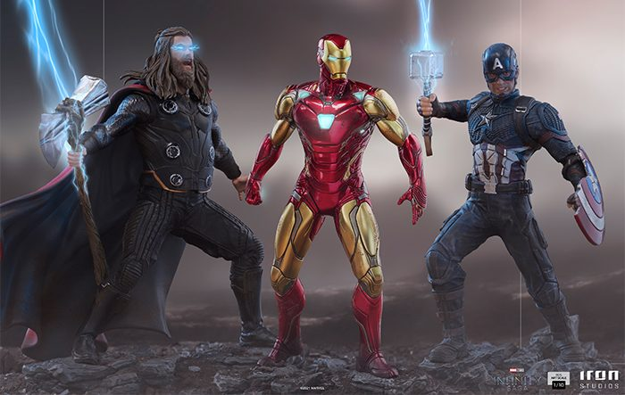 Avengers: Endgame Iron Studios Battle Diorama Statues