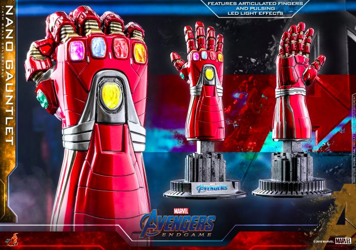 Avengers Endgame 1/4 Scale Nano Gauntlet Replica