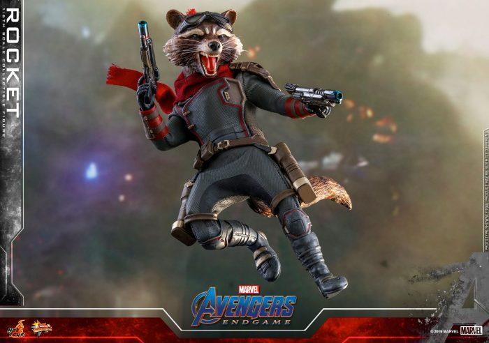 Rocket Raccoon - Avengers Endgame Hot Toys Figure