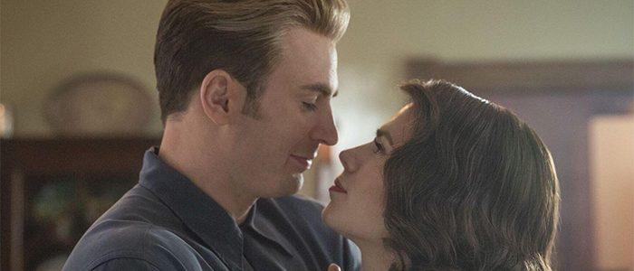 Avengers: Endgame - Steve Rogers and Peggy Carter