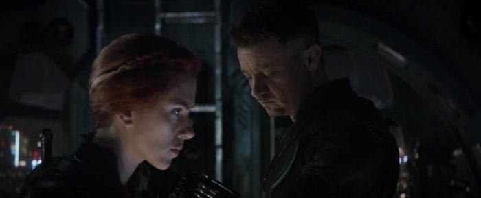 Avengers Endgame - Hawkeye and Black Widow