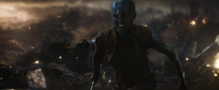 Avengers Endgame - Karen Gillan as Nebula