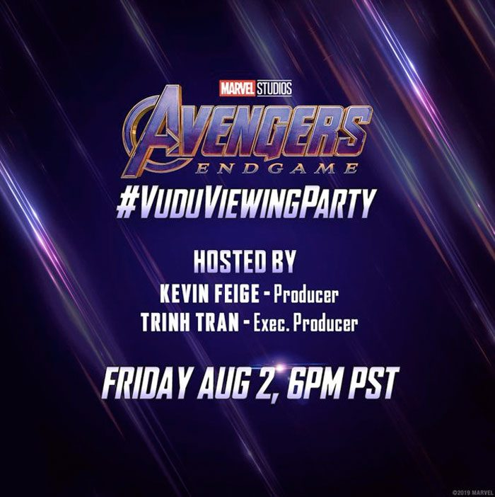 Avengers Endgame Viewing Party