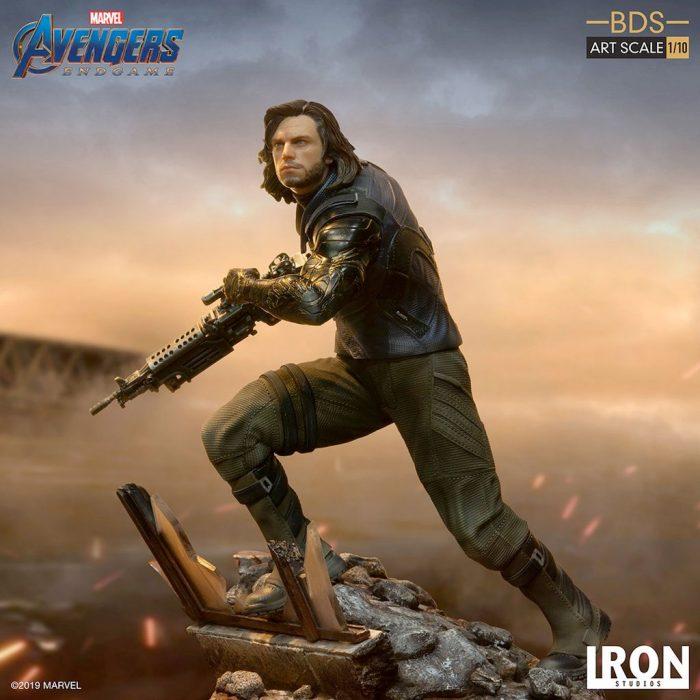 Bucky Barnes - Avengers Endgame Statue