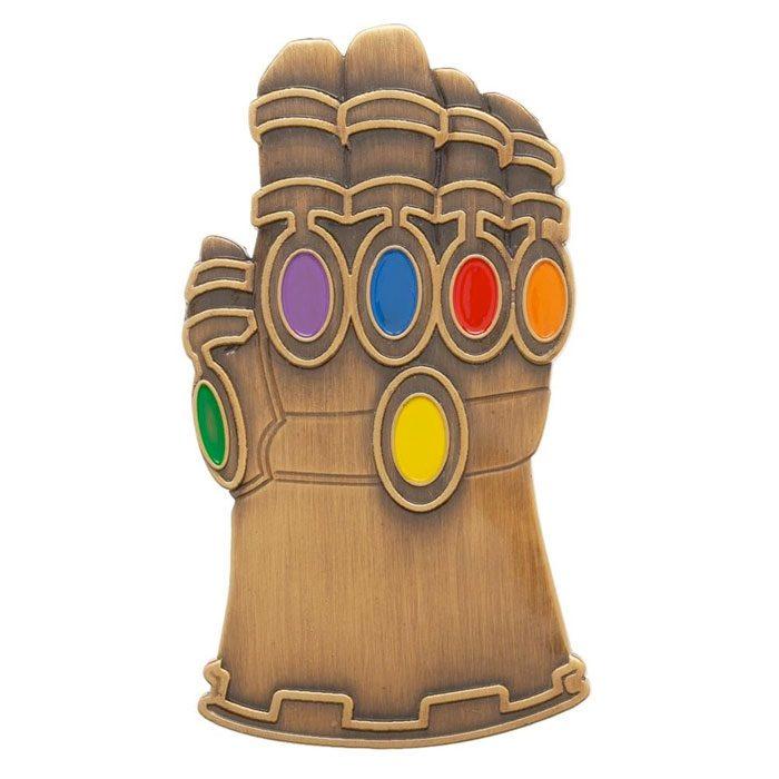 Avengers Infinity War - Infinity Gauntlet Enamel Pin
