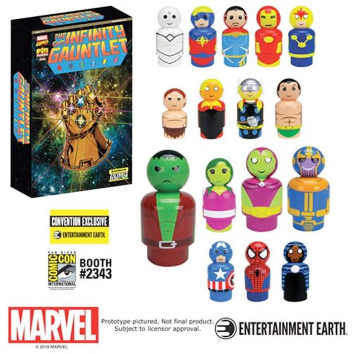 Avengers Infinity Gauntlet Pinmates