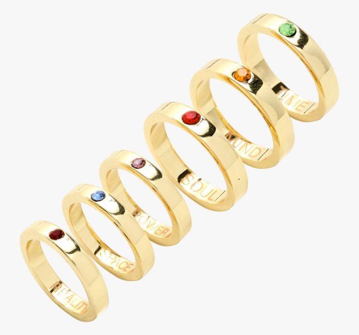 Avengers Infinity Gauntlet Ring Set
