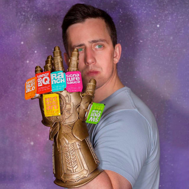 Avengers Infinity Gauntlet with Sauces