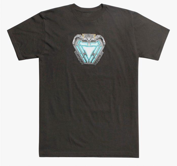 Avengers Infinity War - Iron Man Arc Reactor Shirt