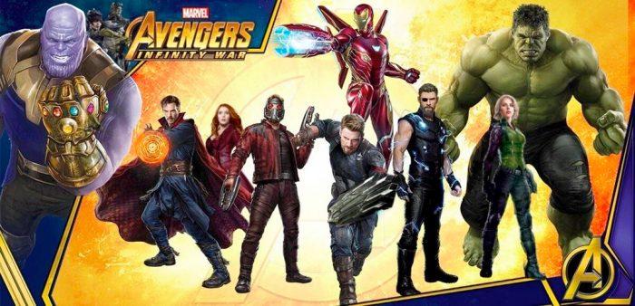 Avengers: Infinity War Promo Art Banner