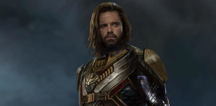 Avengers: Infinity War - Bucky in Wakandan Armor