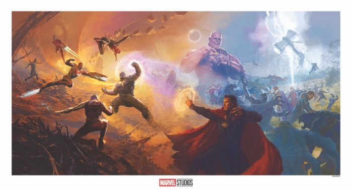 Avengers: Infinity War Concept Art Print