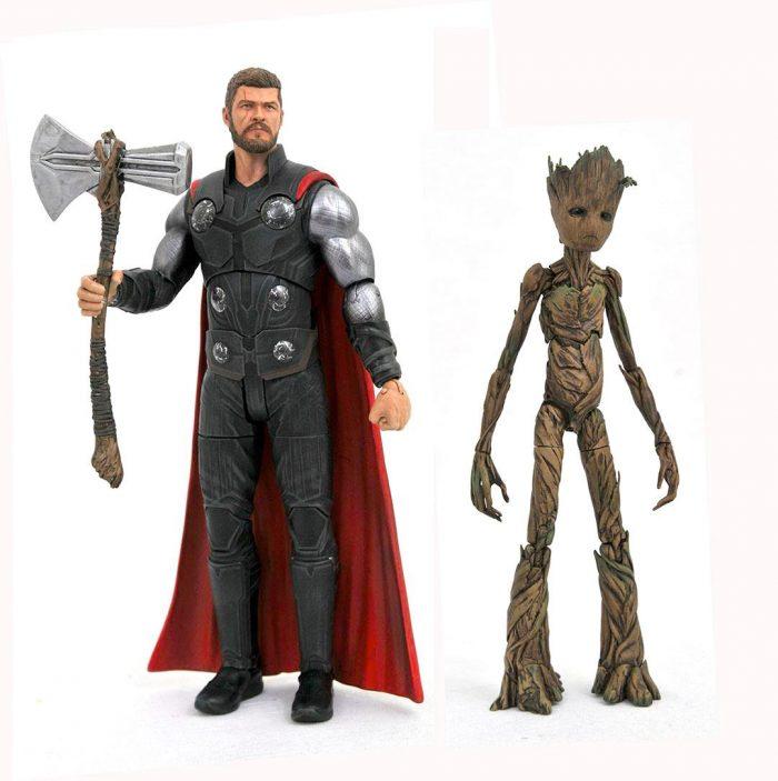 Avengers Infinity War - Diamond Select Figures