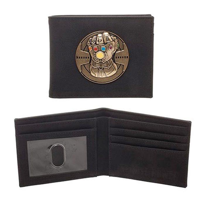 Avengers Infinity War Infinity Gauntlet Wallet