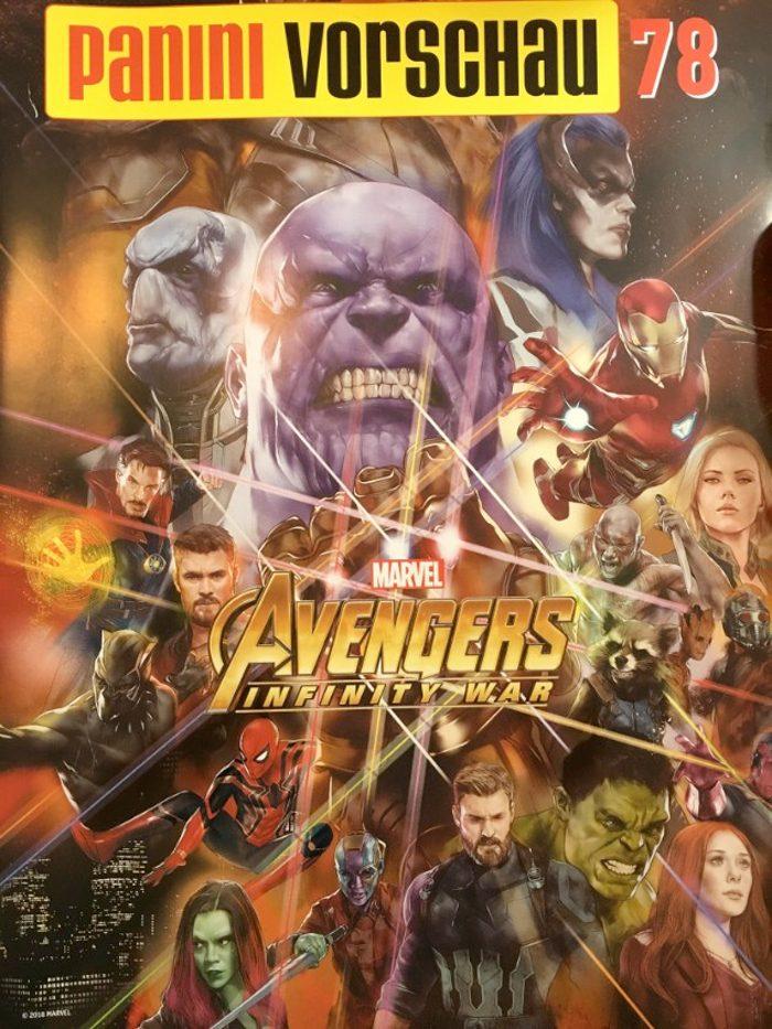 Avengers Infinity War Comic Cover